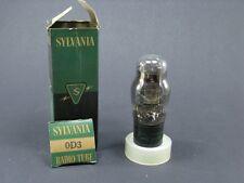1 tubo electrónica SYLVANIA OD3/ vintage tubo de vacío amplifidor/NOS