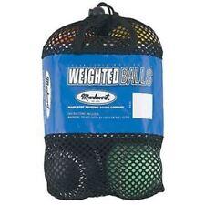 Markwort Weighted Baseball Set (5-7-9-10-11-12oz) Pitching Strength Training
