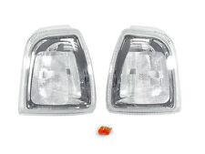 DEPO Euro Style Front Clear/Chrome Corner Light Pair For 2001-2006 Ford Ranger