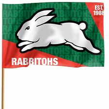South Sydney Rabbitohs NRL GAME DAY Pole Flag Banner Fathers Man Cave Gift