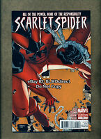 HTF 2012 Scarlet Spider #2 VF/NM Second Print Variant Marvel Comics Spider-Man