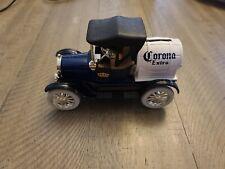 ERTL 1918 Model T Replics Corona Extra Piggy Bank With Key