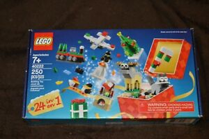 LEGO 40222 Christmas Advent 2016 Calendar Countdown 24-in-1 Factory Sealed