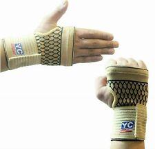 Wrist Support Brace Palm Hand Strap Compression Arthritis Bandage Wrap Gloves