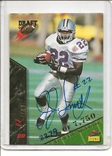 1995 Signature Rookies J.J. Smith Autograph Football Trading Card #63