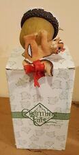 Charming Tails Christmas Nut - Chipmunk Lidded Ornament # 86/128 Mint
