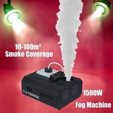 1500W DMX Máquina de Humo Fogger Vertical Control Remoto Inalámbrico Club Etapa