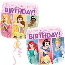 "PRINCESS PARTY SUPPLIES BALLOON 17"" BIRTHDAY DISNEY PRINCESS ANAGRAM BALLOON"
