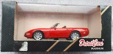 Details cars platinium 1/43 art. 211 Corvette C4-ZR-1 cabriolet 1990 rouge