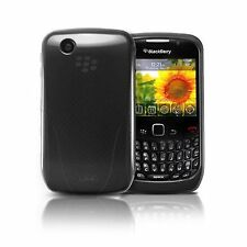 iSkin Vibes BlackBerry Curve 8520/8530 - BLACK Flexible Slim-Fitting Guard NEW
