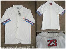2002 Nike Air Jordan Velour Velluto Retro BLUE SHIRT JERSEY TEE Vintage OG Basket
