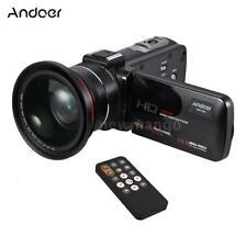"Andoer 1080P HD WiFi 24MP 3.0"" LCD 16X ZOOM Digital Video Camera Camcorder F1X0"