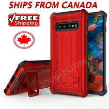 For Samsung Galaxy S10 / Plus S10e Case Heavy Duty Armour Dual Layer Tough Cover