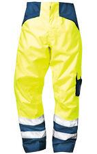 Warnschutzhose gelbe Warnschutzbundhose Herren Warnschutzkleidung Gr. 2 XL gelb