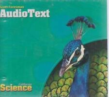 Scott Foresman AudioText: California Science AUDIO BOOK CD student full text ESL