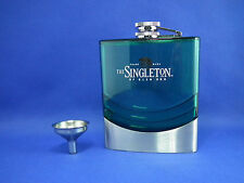 THE SINGLETON SINGLE MALT SCOTCH WHISKY Hip Flask 5oz  New with Box