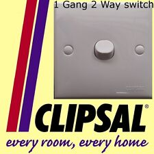 Schneider Clipsal 1 gang 2 way switch white plastic staircase lighting switches