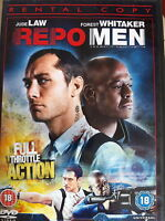 Jude Law Forest Whitaker REPO MEN 2010 Futuristic Sci-Fi Thriller UK DVD
