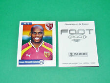 PANINI FOOT 2001 FRANCE FOOTBALL 2000-2001 TRESSOR MORENO FC METZ LORRAINE
