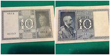 banconota 10 lire regno 1936