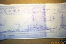 USS COOLBAUGH ship boat model boat plan