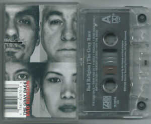CASSETTE TAPE BAD RELIGION The gray race (Atlantic 96 CANADA) 1st ps punk VG+