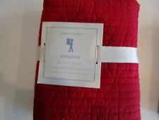 1  Pottery Barn Kids Kingston Euro  quilted  sham  New