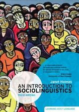 An Introduction to Sociolinguistics (3rd Edition) (Learning About Language), Jan