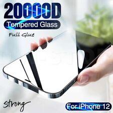 Pellicola VETRO Temperato per iPhone 12 PRO MAX MINI 9D Copertura TOTALE FULL 9H