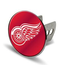 "Detroit Red Wings Metal 2"" Trailer Hitch Cover Laser Cut Acrylic Logo Hockey"