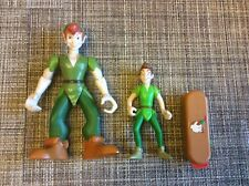 Disney Peter Pan Lot Of Figures And Toy Swiss Army Knife