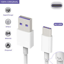 For Huawei P10 Plus Original USB 3.1 Type-C 5A Supercharge Data Charger Cable