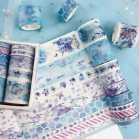 10 Rolls/pack DIY Washi Tape Scrapbooking Paper Sticker Adhesive Tape