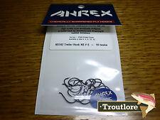 18 x AHREX NS182 #6 NORDIC SALT TRAILER HOOKS NEW FLY TYING MATERIALS
