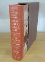 Bury My Heart at Wounded Knee - Dee Brown - Folio Society 2007 1st ed. Like New