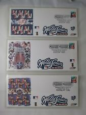 2000 SUBWAY WORLD SERIES METS VS YANKEES SET OF 3 DIFFERENT USPS POSTAL COVERS