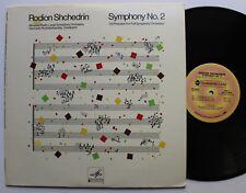 Rodion Shchedrin Sym No. 2 Rozhdestvensky Melodiya Westminster Gold LP 1978