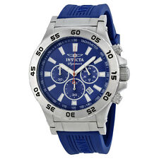 Invicta Signature II Ralford Chrono Blue Dial Mens Watch 7443