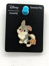 Disney Loungefly Bambi - Thumper Rabbit Spring Flowers Enamel Trading Pin