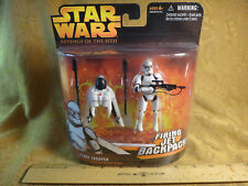 Star Wars Revenge Of The Sith Clone Trooper With Firing Jet Backpack 85182 NIP