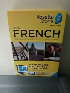 Rosetta Stone French Home/office Software