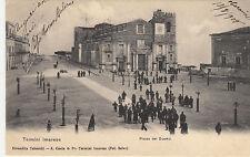 NP5054 - TERMINI IMERESE PALERMO - PIAZZA DEL DUOMO ANIMATISSIMA VIAGGIATA 1905
