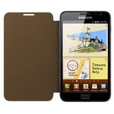 Samsung efc-1e1c ORIGINALE FLIP COVER Custodia Galaxy Note n7000 Marrone Scuro