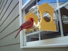 Jcs Wildlife Yellow Diner 9 Window Bird Feeder - Holds 3 Cups