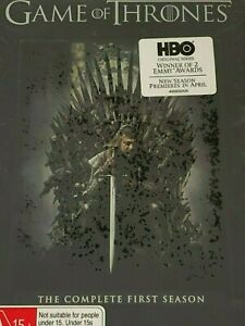Game of Thrones: The Complete First Season Region 1 Brand New