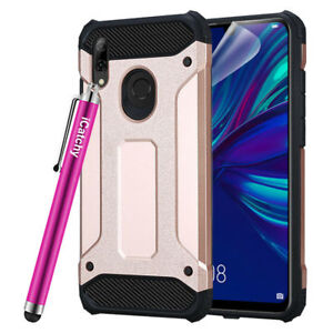 For Huawei P smart 2019 Phone Case Hybrid Rugged Shockproof Armor Back Cover