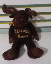 DANDEE CHOCOLATE MOOSE PLUSH TOY SOFT TOY DAN DEE 48CM TALL! COLLECTOR'S CHOICE!