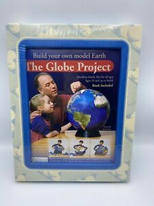 """NOS Design Science Toys The Globe Project 16"""" 1995 Vintage 3D puzzle SEALED"""