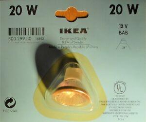 20 watts halogene light bulb clear 38o, UV filtering, MR16, 12 Volts, bi pins
