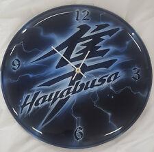 CUSTOM AIRBRUSHED HAYABUSA KANJI CLOCK